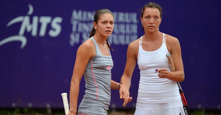 BRD Bucharest Open: Mitu și Țig, în fața primului trofeu de dublu WTA
