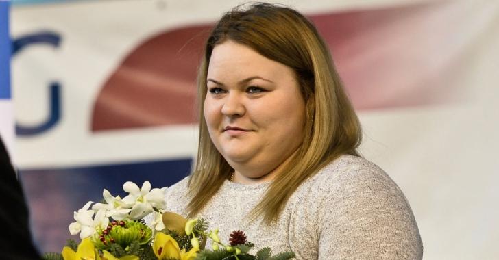 Andreea Aanei, trei medalii de aur la CE de tineret