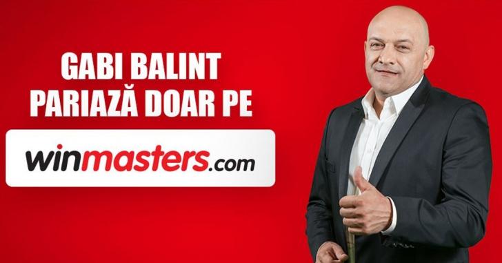 Gabi Balint se alătură echipei winmasters în calitate de Brand Ambassador