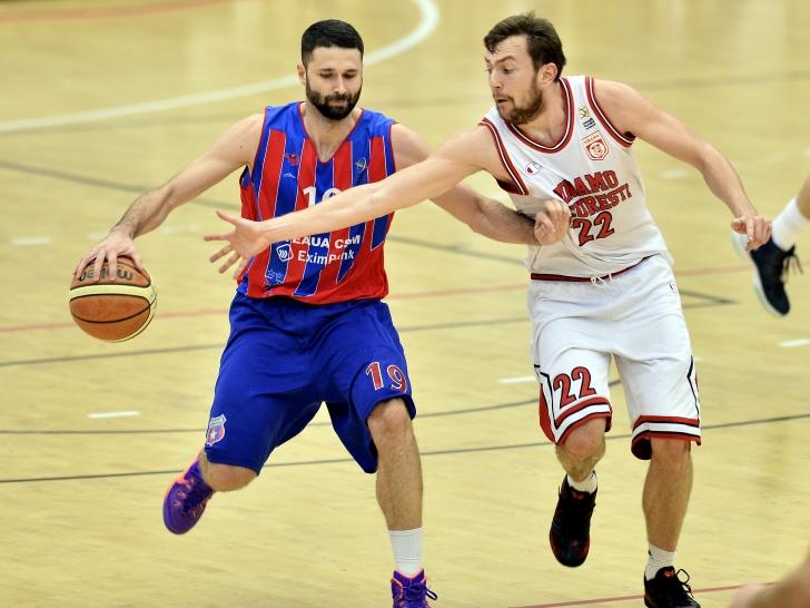 LNBM: Steaua s-a impus la pas