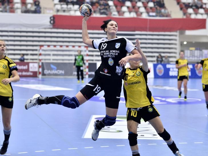 Liga Campionilor: CSM București - Savehof 27-22