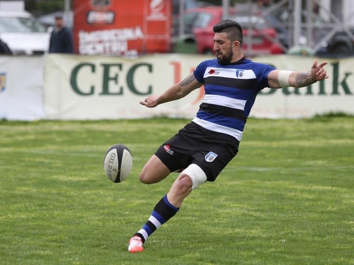 Vlaicu și Surugiu la prima victorie în rugby-ul italian