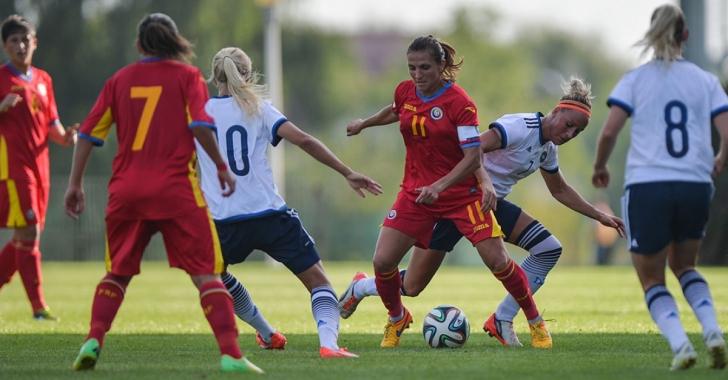 Stagiu în Spania pentru fotbaliste