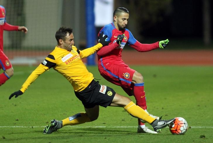 Steaua, victorie în primul meci al celui de-al doilea cantonament