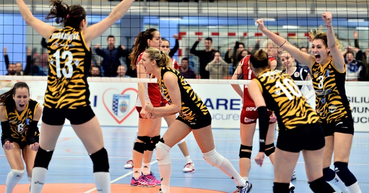 CSM București, în sferturile Cupei Challenge
