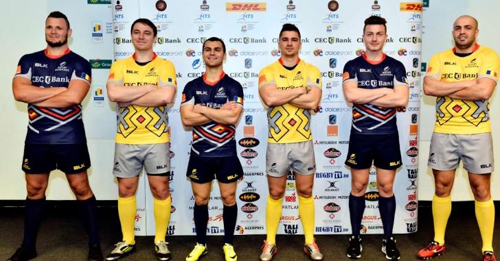 Naționala de rugby joacă în 2016 într-un nou echipament