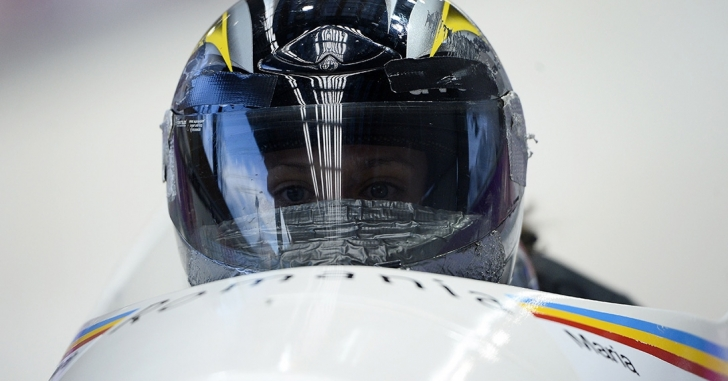 Româncele, locul 14 la Mondialele de bob