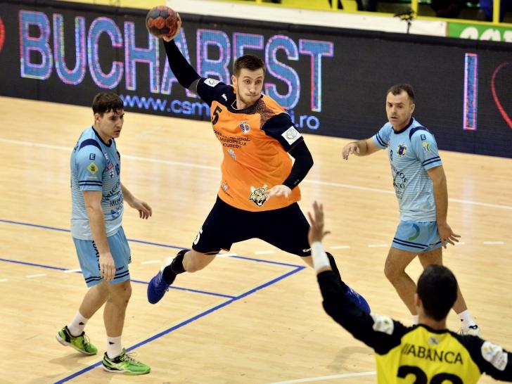 Cupa EHF: CSM București, învinsă în Spania