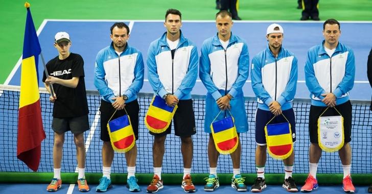 Echipa de Cupa Davis pentru meciul cu Slovenia