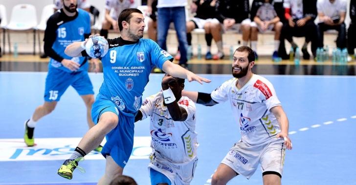 Echipele masculine, eliminate din Cupa EHF