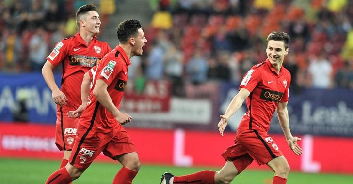 Liga 1: La două puncte de locul 2