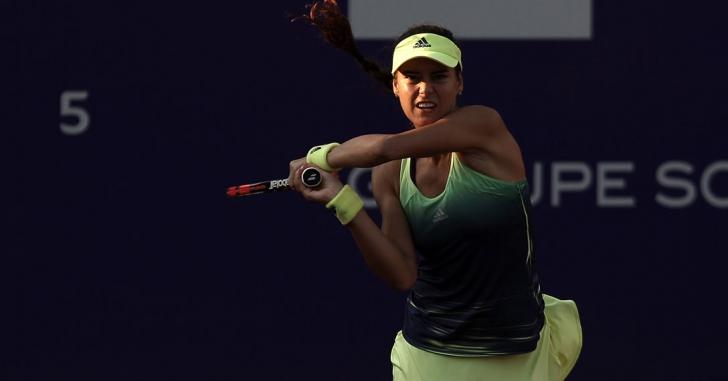 WTA Praga: Eliminată, dar cu capul sus