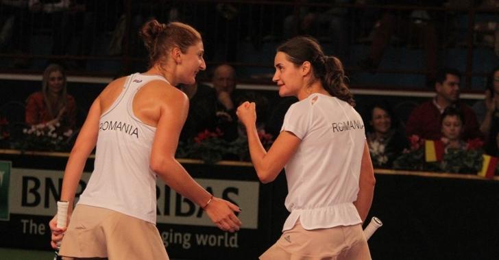 WTA Roma: Begu/Niculescu, semifinală de gală cu liderele mondiale