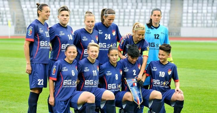 Fotbal feminin: Olimpia Cluj al șaselea titlu național