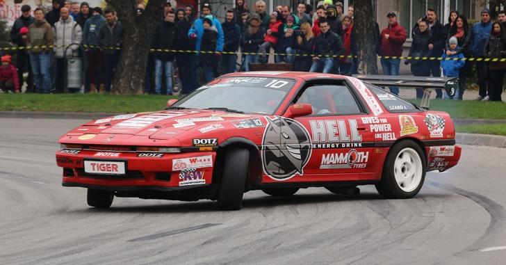 Răzvan Frățianu a câștigat prima etapă a campionatului național de drift