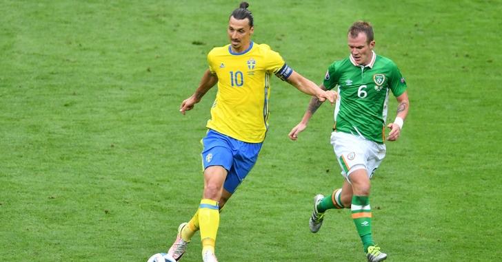 Euro 2016: Suedia - Irlanda 1-1