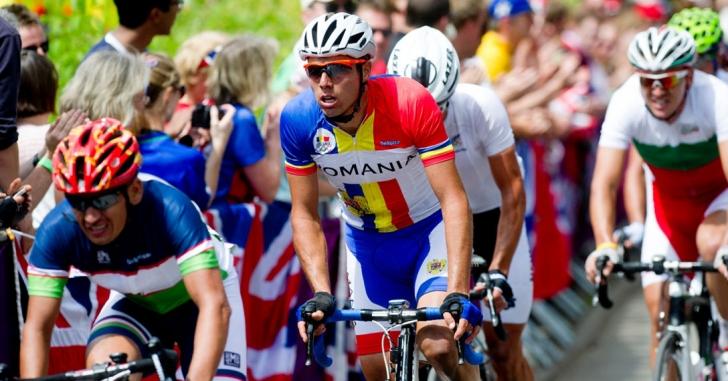 Andrei Nechita a câștigat prologul Turului Ciclist al Sibiului