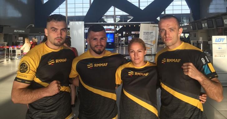 Două victorii pentru România la Mondialele de MMA din Las Vegas