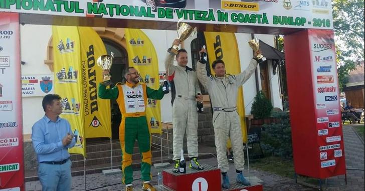 Bogdan Cuzma a câștigat Cupa Gorjului la viteză în coastă și e noul lider al campionatului