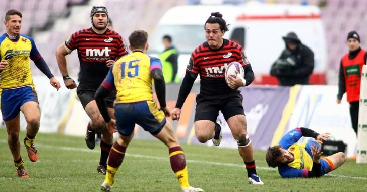 Timișoara Saracens -  Edinburgh, primul meci în grupele Challenge Cup
