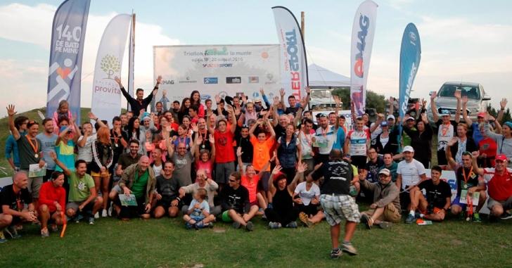 200 de triatloniști au luat startul la a 3-a ediție Fără Asfalt la munte