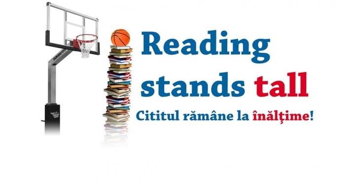 """Start campaniei """"Reading stands tall"""""""