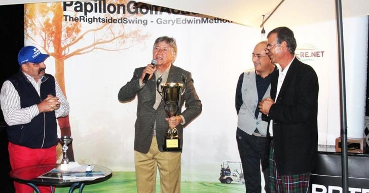 """Cupa Academiei de Golf """"Demis Papillon"""" 2016, câștigată de Nick Eftimie"""