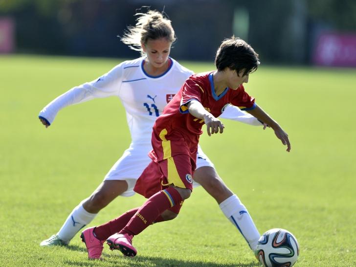Naționala feminină U17, învingătoare în fața Belgiei