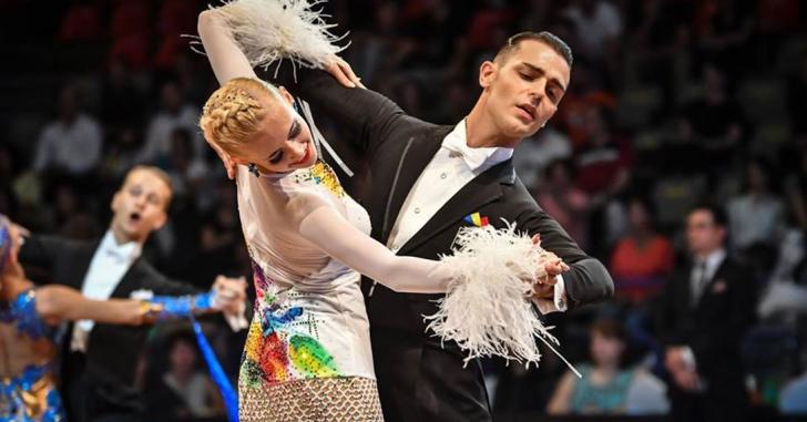 Cinci perechi de dansatori sportvi romani in Top 50 Mondial
