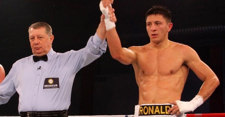 Ronald Gavril, câștigător al centurii NABF