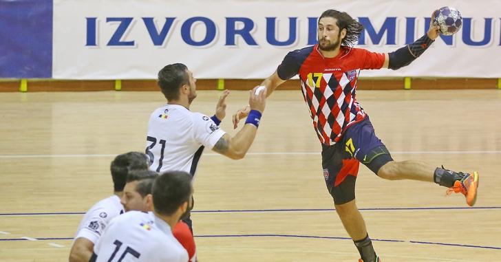 LNHM: Steaua învinge la Reșița și urcă pe locul 5