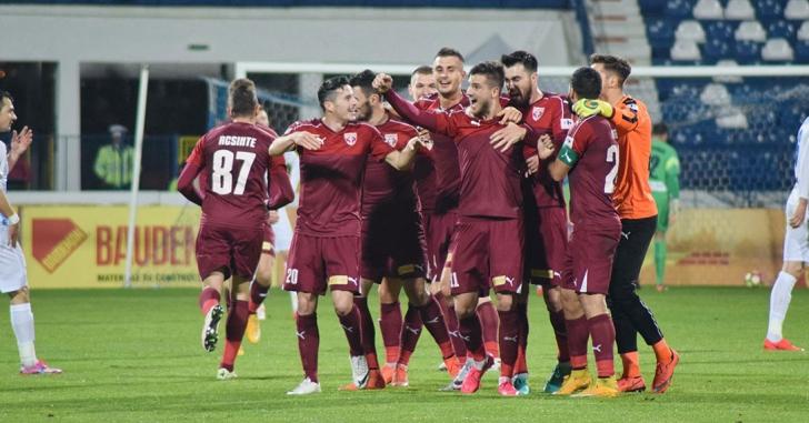 Liga 1: Căpățână a înscris golul campionatului