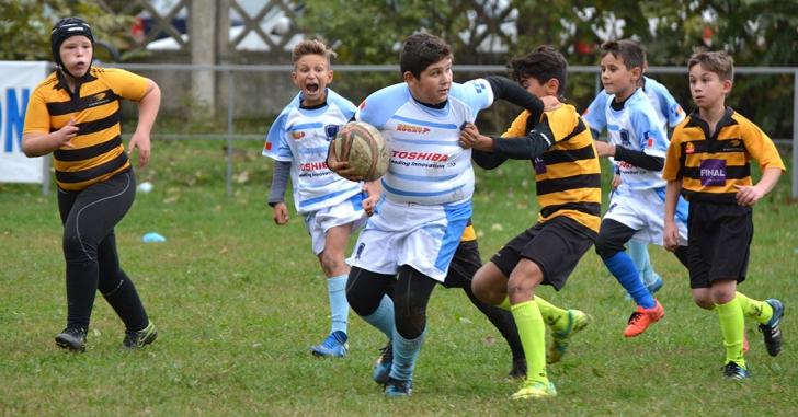 Campionatul de Mini-Rugby AMRB se joacă la RC Antonio Jr.