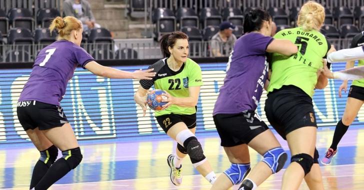 EHF Cup: Brăilencele înving la limită