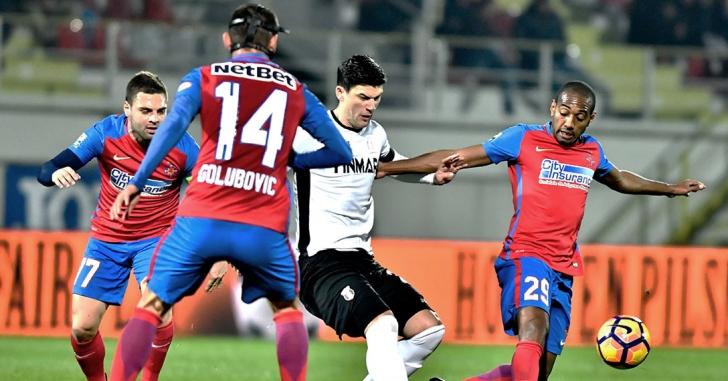 Liga 1: Astra câștigă duelul cu Steaua și speră la play-off