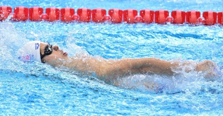 Robert Glință, locul 8 la 200 m spate la Campionatele Mondiale