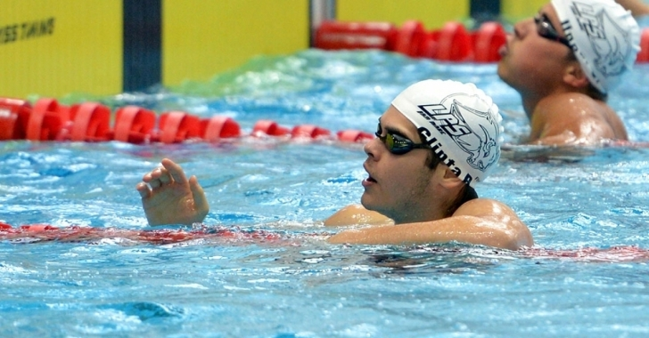Robert Glință, cel mai bun înotător în 2016