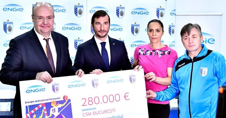 ENGIE susține performanța la CSM București