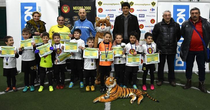Cupa Young Tigers, mini-fotbaliști cu maxi-devotament