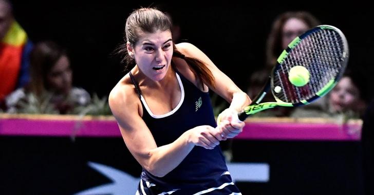 Fed Cup: Sorana Cîrstea, învinsă în al doilea meci al zilei