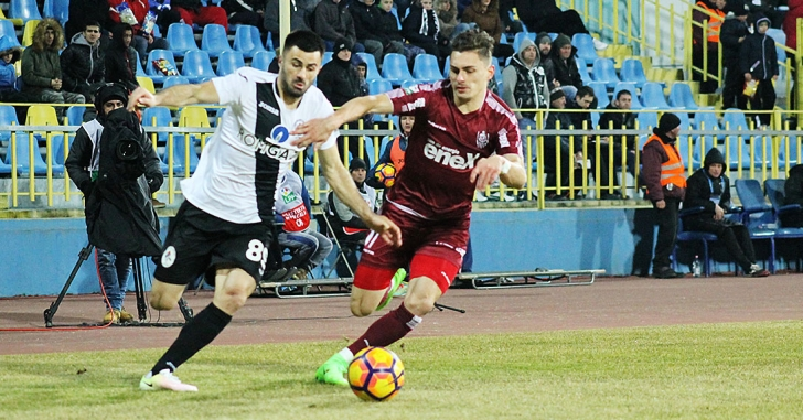 Liga 1: Trei puncte mari obținute de CFR la Mediaș