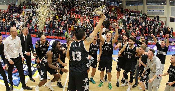 Cupa României: U-Banca Transilvania Cluj câștigă trofeul după un veritabil spectacol