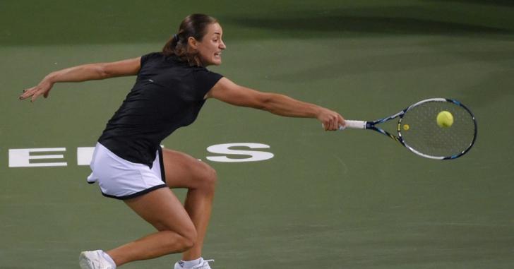 WTA Indian Wells: Niculescu, aproape de surpriză în proba de dublu