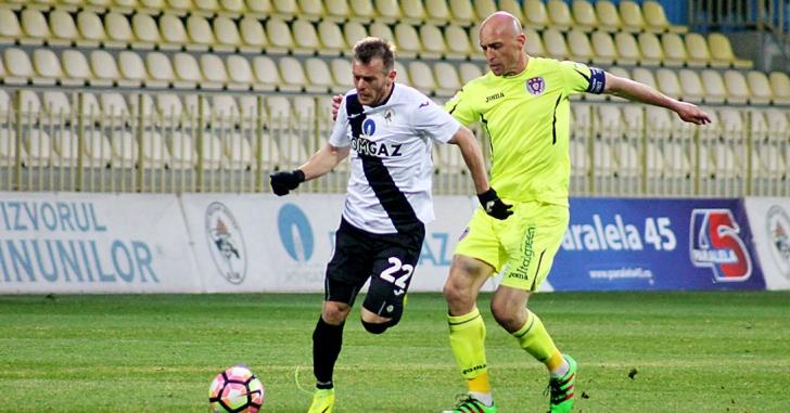 Liga 1: Gaz Metan Mediaș a pășit cu dreptul în play-out