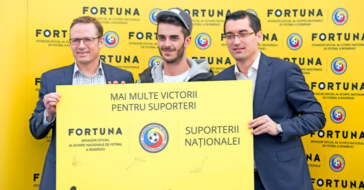 Fortuna devine sponsor al Naționalei