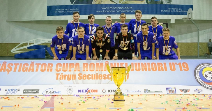 Informatica Timișoara a câștigat Cupa României U19