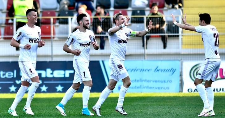 Liga 1: Clujenii pleacă cu puncte de la Giurgiu