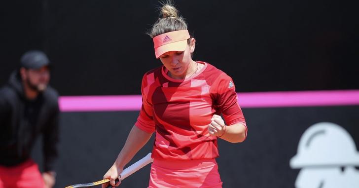 WTA Stuttgart: Halep, în turul 2 și la simplu