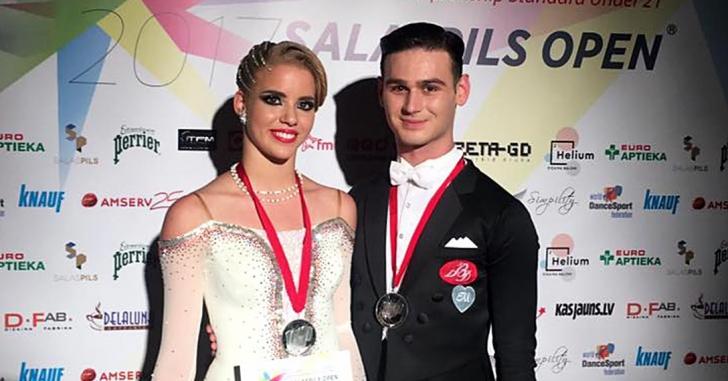 Medalii internaționale pentru dansatorii sportivi români