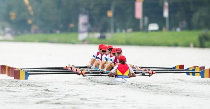 Echipajele românești de 8+1 favorite la aurul continental